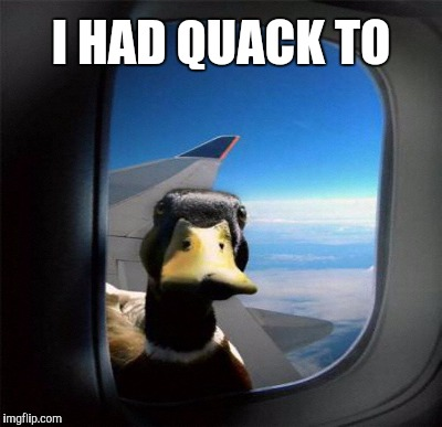 I HAD QUACK TO | made w/ Imgflip meme maker