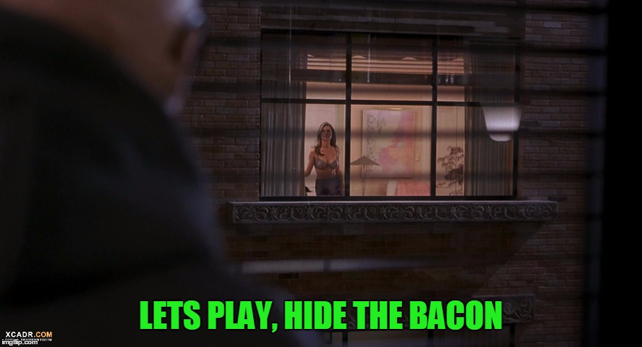 LETS PLAY, HIDE THE BACON | made w/ Imgflip meme maker