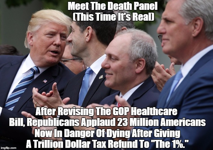 """This Time The Death Panels Are Real"" 
