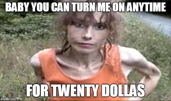 BABY YOU CAN TURN ME ON ANYTIME FOR TWENTY DOLLAS | made w/ Imgflip meme maker