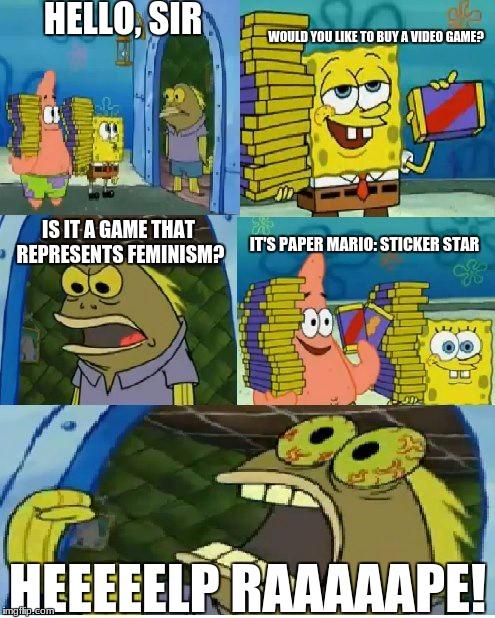 Chokolade SvampeBob Meme - Imgflip-6770