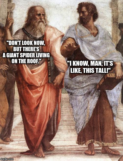 Plato And Aristotle Memes Imgflip