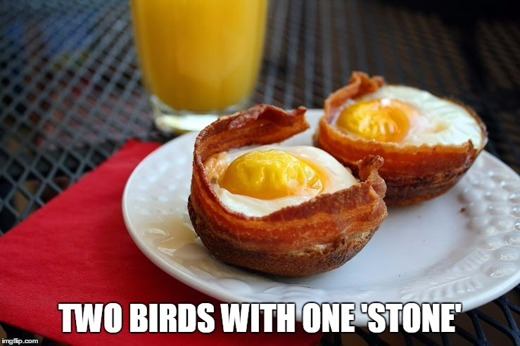TWO BIRDS WITH ONE 'STONE' | made w/ Imgflip meme maker