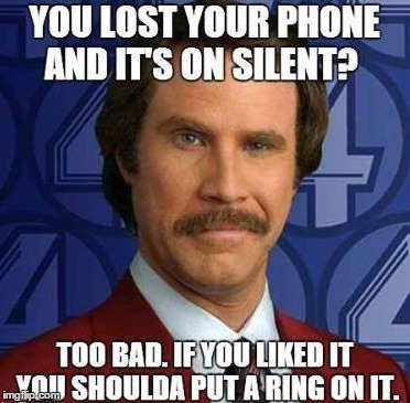 image tagged in phone,silent,ring | made w/ Imgflip meme maker