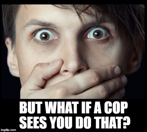 oh my | BUT WHAT IF A COP SEES YOU DO THAT? | image tagged in oh my | made w/ Imgflip meme maker