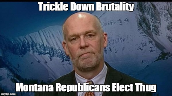 """Trickle Down Brutality"" 