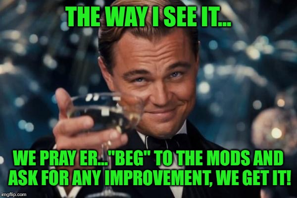 "First the ""My Comments"" tab, now unlimited comments?! What's next! 