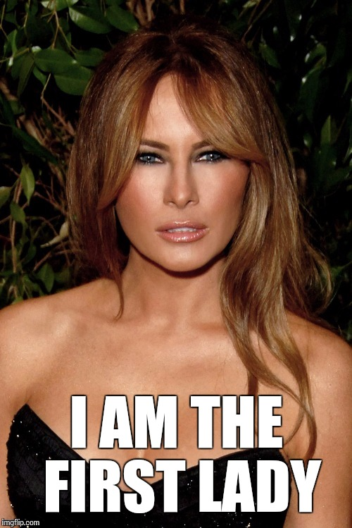 I AM THE FIRST LADY | made w/ Imgflip meme maker