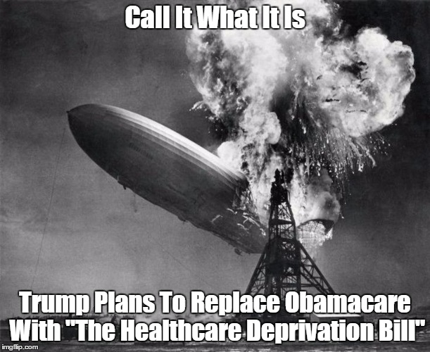 "Call It What It Is: ""The Healthcare Deprivation Bill"" 