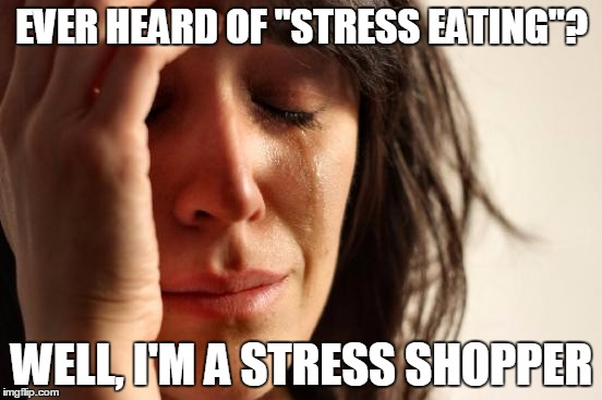 """You're not gonna max out your credit card, are you?"" / / ""Who the heck do you think you are--my MOM?!?"" 