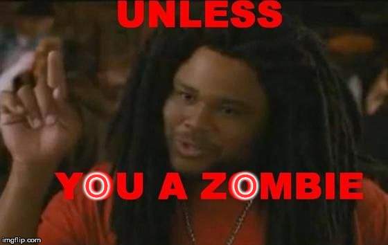 Zombie | O              O | image tagged in zombie | made w/ Imgflip meme maker