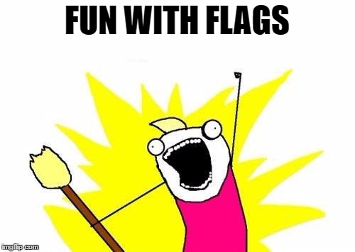 X All The Y Meme | FUN WITH FLAGS | image tagged in memes,x all the y | made w/ Imgflip meme maker