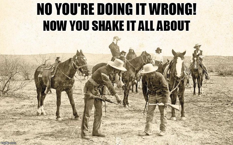 This is the humor you get when we don't have a good week to play with | NO YOU'RE DOING IT WRONG! NOW YOU SHAKE IT ALL ABOUT | image tagged in hokey pokey,stupid humor | made w/ Imgflip meme maker