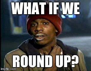 Y'all Got Any More Of That Meme | WHAT IF WE ROUND UP? | image tagged in memes,yall got any more of | made w/ Imgflip meme maker