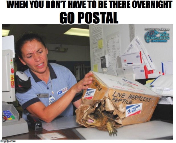 """Going Postal"" 