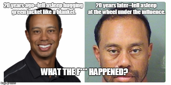1q1deo tiger woods side by side memes imgflip