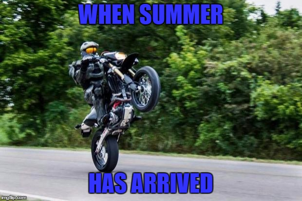 One more day then I am free! YEEEEEEEEEEEEEEEEEEEEEEEEEEEEEEE | WHEN SUMMER HAS ARRIVED | image tagged in halo spartan,i'm out,summer is calling my name,suns to bright sky too blue | made w/ Imgflip meme maker