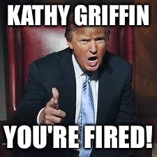 I Wonder If Kathy Griffin Walked Into Work And Saw Trump Spin Around A Chair Like