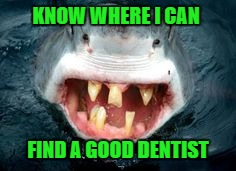 KNOW WHERE I CAN FIND A GOOD DENTIST | made w/ Imgflip meme maker