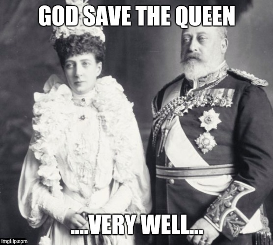 Memes | GOD SAVE THE QUEEN ....VERY WELL... | image tagged in memes | made w/ Imgflip meme maker