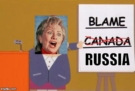 Screw you guys, I going for a walk in the woods | RUSSIA | image tagged in blame canada,blame russia | made w/ Imgflip meme maker