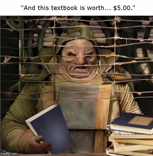 Selling your textbooks at the end of the semester.  The Book Store Troll | image tagged in memes,college humor,book store troll,book buy back | made w/ Imgflip meme maker