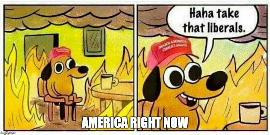 AMERICA RIGHT NOW | made w/ Imgflip meme maker