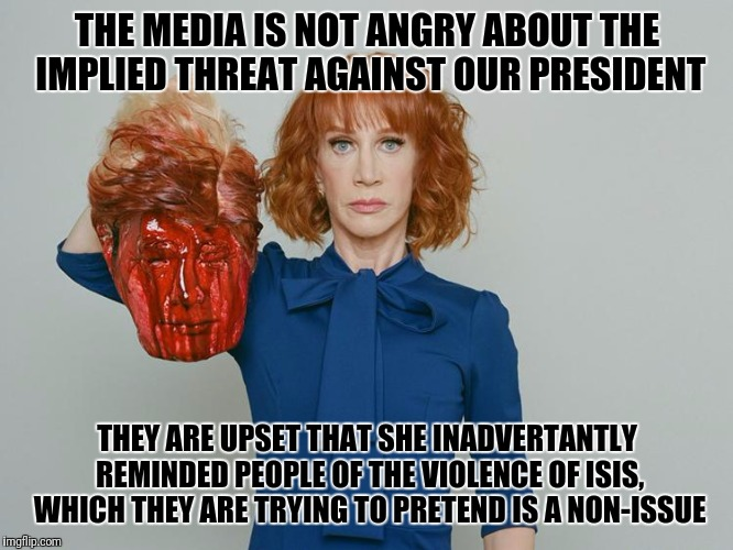 Image Tagged In Kathy Griffin Tolerance