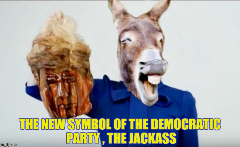 "I can't leave this lunatic alone , ""The Jackass head fits , you're hired !"" 