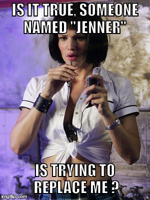 "Yes, Sydney Bristow | IS IT TRUE, SOMEONE NAMED ""JENNER"" IS TRYING TO REPLACE ME ? 