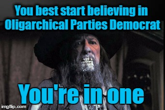 "It's not just a ""buzz word"" sheeple, but a well documented & scientifically proven description of US Capitalist Parties 