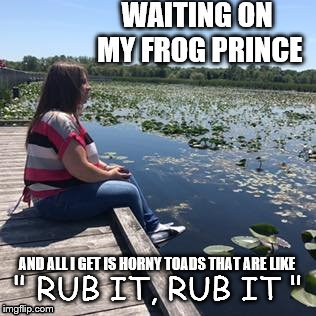 "Frog Prince | "" RUB IT, RUB IT "" 