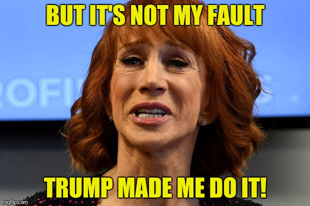BUT IT'S NOT MY FAULT TRUMP MADE ME DO IT! | made w/ Imgflip meme maker