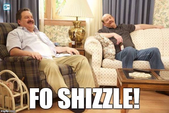 Goldberg Mustaches | FO SHIZZLE! | image tagged in goldberg mustaches | made w/ Imgflip meme maker