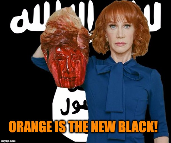 Image Tagged In Isis Kathy Griffinorange Is The New Blackmemesmemeakward Friends