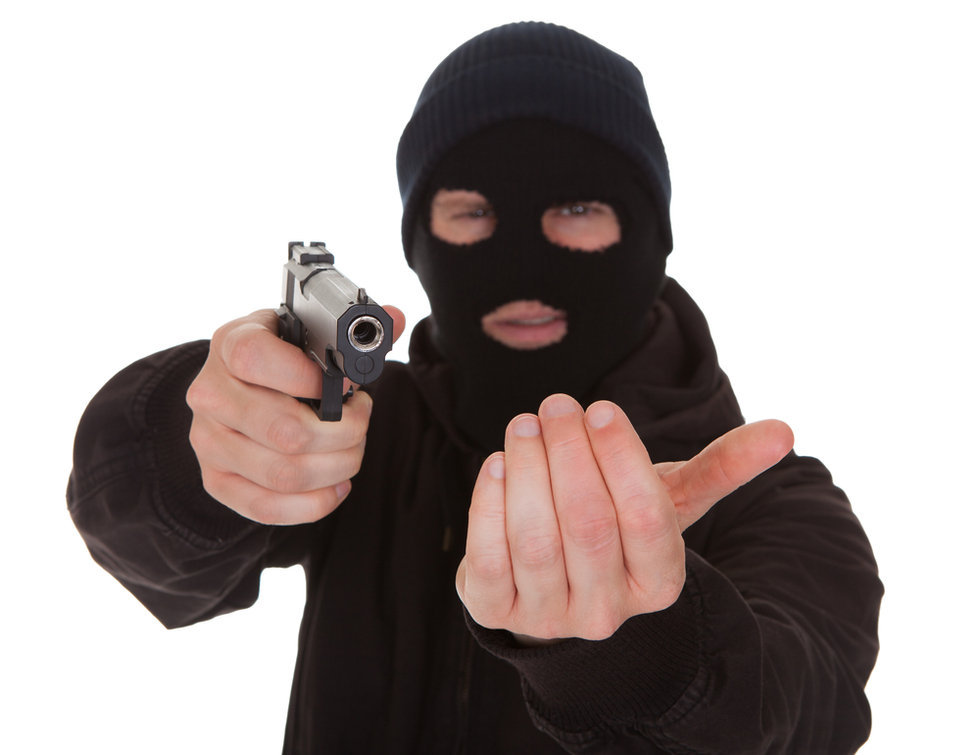 High Quality Robber Gunpoint Blank Meme Template