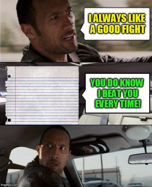 Credit to DashHopes | image tagged in the rock driving,needameme,rock paper scissors | made w/ Imgflip meme maker