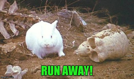 RUN AWAY! | made w/ Imgflip meme maker