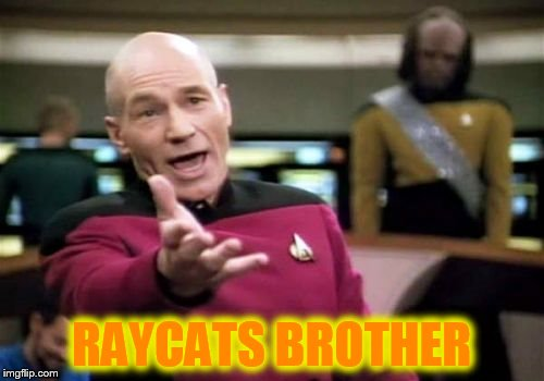 Picard Wtf Meme | RAYCATS BROTHER | image tagged in memes,picard wtf | made w/ Imgflip meme maker