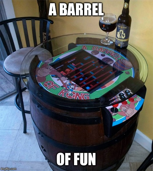 A BARREL OF FUN | made w/ Imgflip meme maker