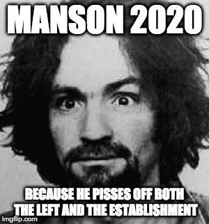 Manson Tour 2020 charles manson   Imgflip