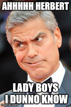 AHHHHH HERBERT LADY BOYS I DUNNO KNOW | made w/ Imgflip meme maker