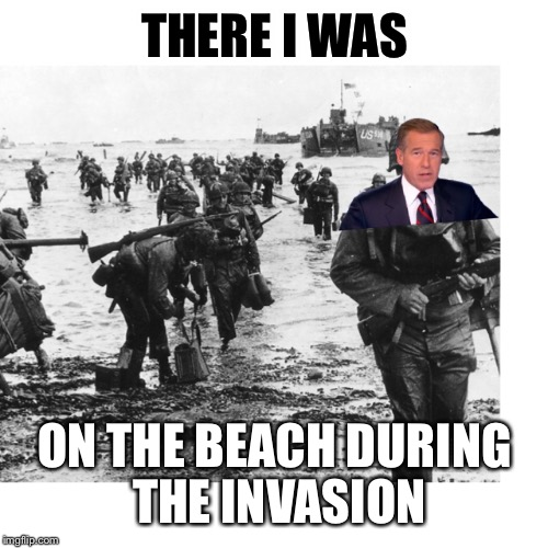 THERE I WAS ON THE BEACH DURING THE INVASION | made w/ Imgflip meme maker