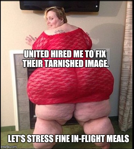 Remember the Friendly Skies of United? | UNITED HIRED ME TO FIX THEIR TARNISHED IMAGE. LET'S STRESS FINE IN-FLIGHT MEALS | image tagged in memes | made w/ Imgflip meme maker