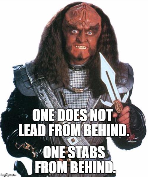 Klingon Warrior - Imgflip