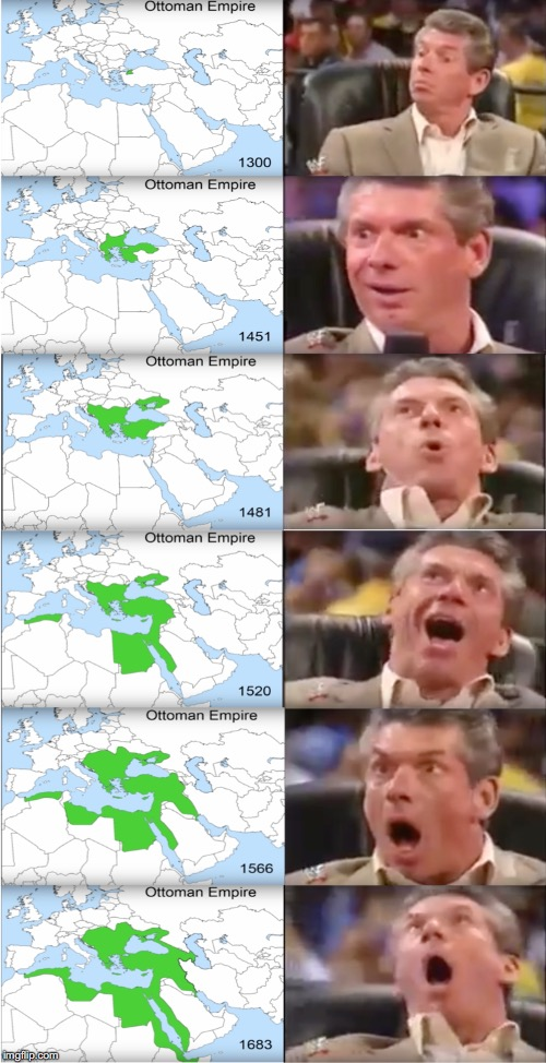 *Orgasms in Turkish* | image tagged in ottomans,turkey,vince mcmahon | made w/ Imgflip meme maker