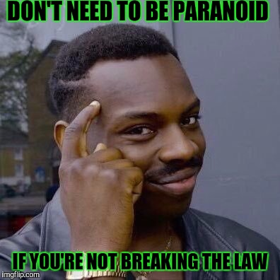 "When someone says ""cops just make me nervous."" 
