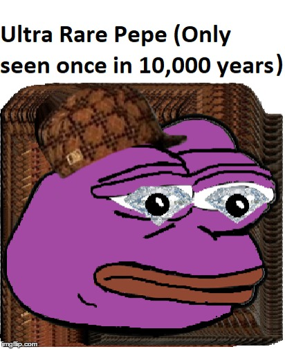Ultra Rare Pepe | image tagged in rare pepe,memes,frog,ultra,funny,valueable | made w/ Imgflip meme maker