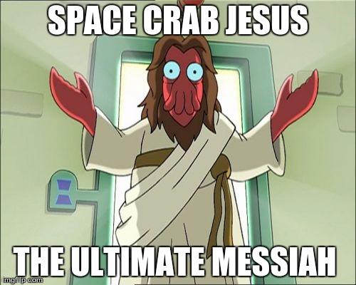 Zoidberg Jesus Meme Imgflip