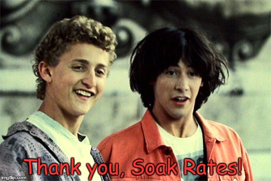Thank you, Soak Rates! | made w/ Imgflip meme maker